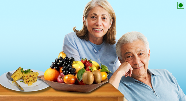 Seniors (60+) Vegetarian  Diet Plan