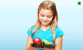 Kids 2 to 5 Vegetarian Diet Plan